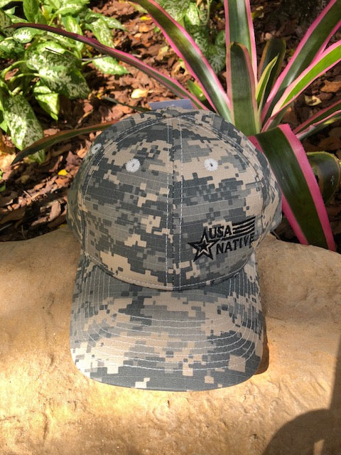 USA Native Cap - Digital Camo