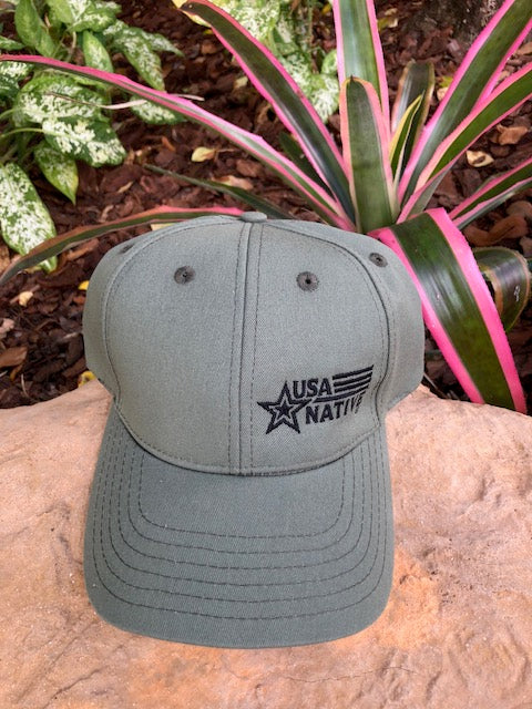 USA Native Cap - Olive
