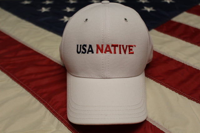 USA Native Cap - White