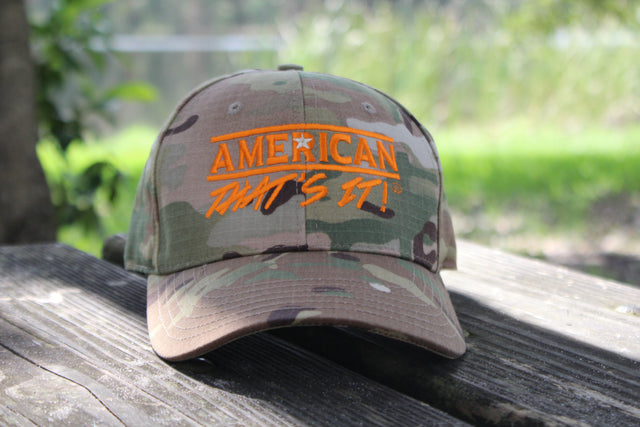 American That's It! Cap - Camo
