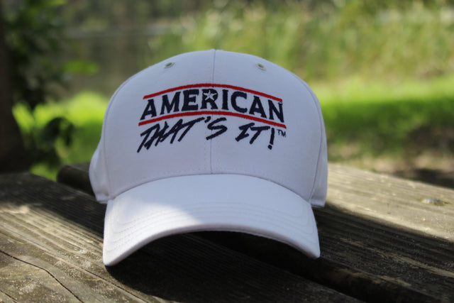 American That's It! Cap - White