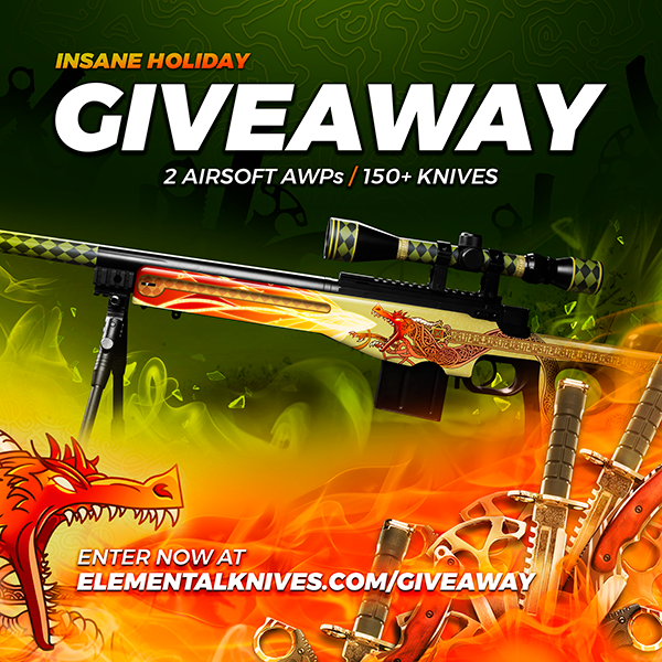 Insane Holiday Giveaway Elemental Knives