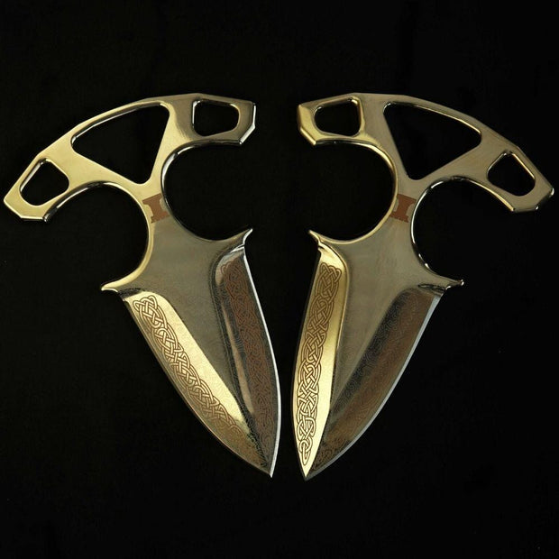 24K Gold Lore Shadow Daggers Elemental Knives Shadow Daggers Skins