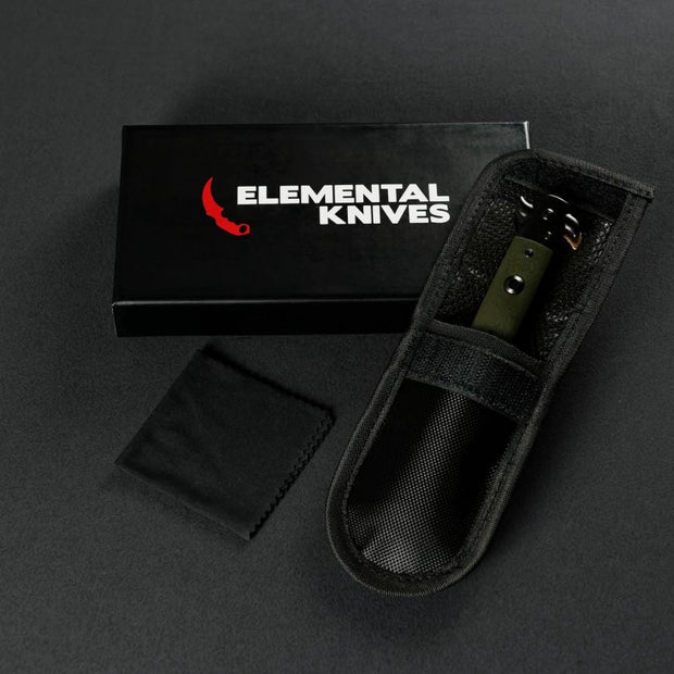 Lore Stiletto Flip Knife-Real Video Game Knife Skins-Elemental Knives