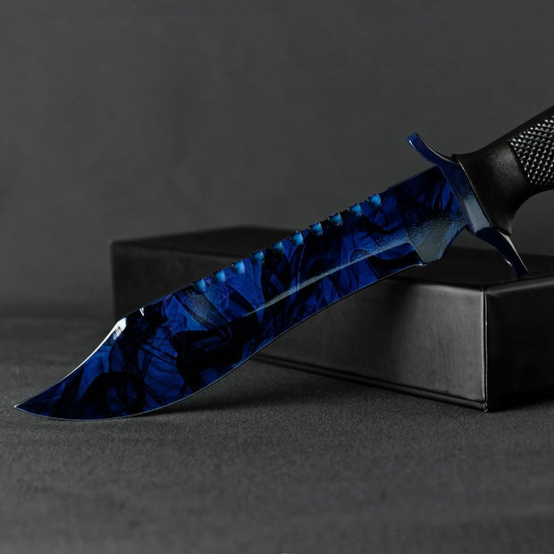 Black Pearl Bowie Knife Elemental Knives Bowie Knife Skins