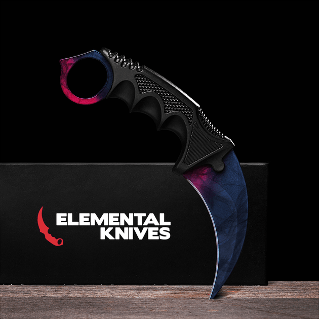 black pearl karambit 1 0 real video game knife skin elemental elemental knives. Black Bedroom Furniture Sets. Home Design Ideas