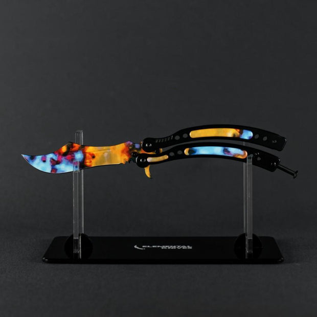 Case Hardened Butterfly Knife 2.0 Elemental Knives Butterfly Knife Skins