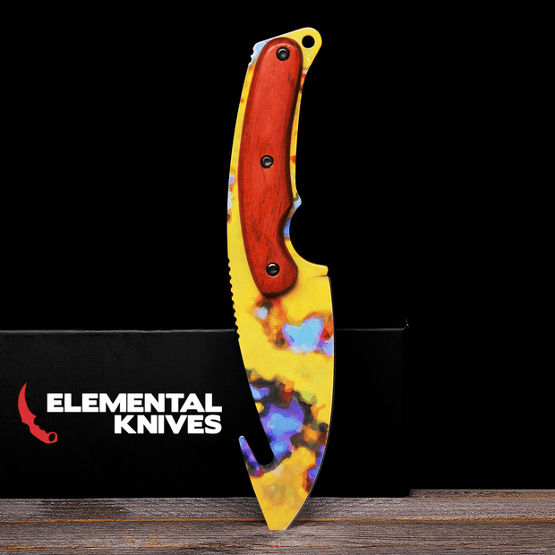 Case Hardened Gut Knife Elemental Knives Gut Knife Skins