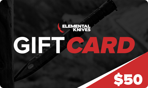 EK Gift Card Elemental Knives Gift Card Skins