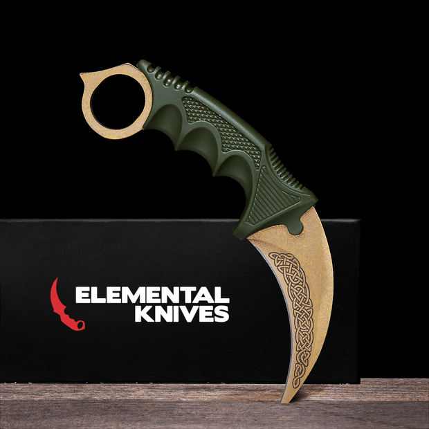 Lore Karambit 1.0-Real Video Game Knife Skins-Elemental Knives