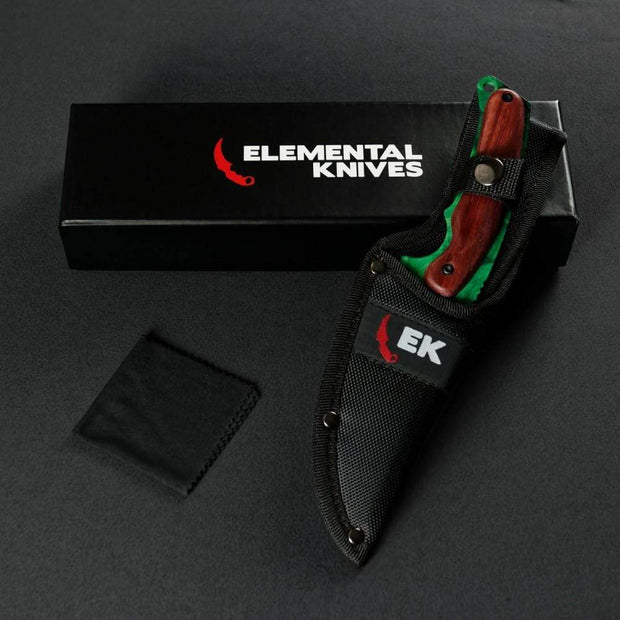 Emerald Gut Knife Elemental Knives Gut Knife Skins
