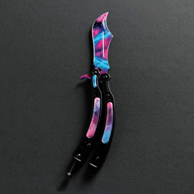Galaxy Butterfly Knife 2.0 Elemental Knives Butterfly Knife Skins