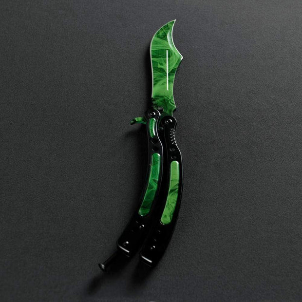 Gamma Phase 2 Butterfly Knife 2.0 Elemental Knives Butterfly Knife Skins