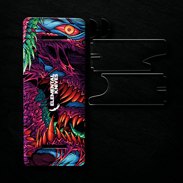 Hyper Beast Universal Display Elemental Knives Display Stand Skins