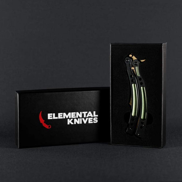 Lore Butterfly Knife 2.0 Elemental Knives Butterfly Knife Skins