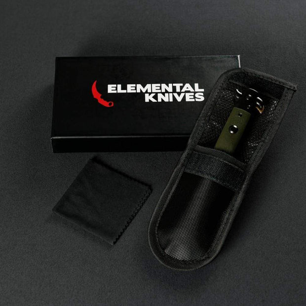 Lore Stiletto Flip Knife Elemental Knives Stiletto Knife Skins
