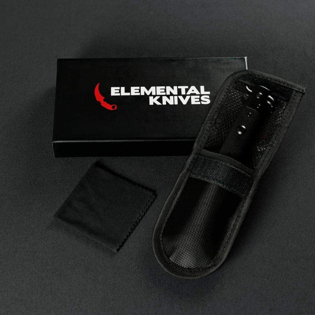 Night Stiletto Flip Knife Elemental Knives Stiletto Knife Skins