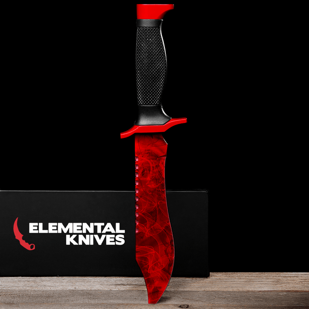 Ruby Bowie Knife Elemental Knives Bowie Knife Skins