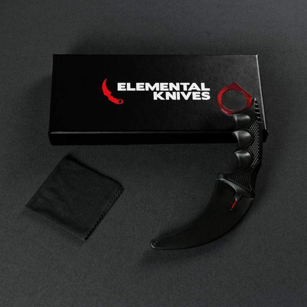 Ruby Doppler Karambit 1.0 Elemental Knives Karambit 1.0 Skins