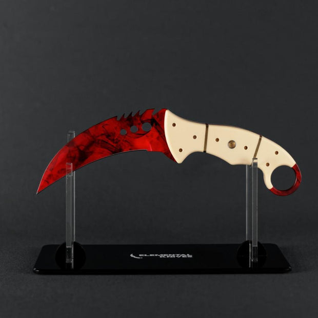 Ruby Talon Elemental Knives Talon Knife Skins