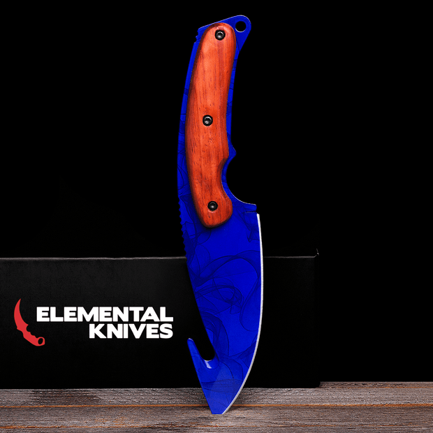 Sapphire Gut Knife Elemental Knives Gut Knife Skins