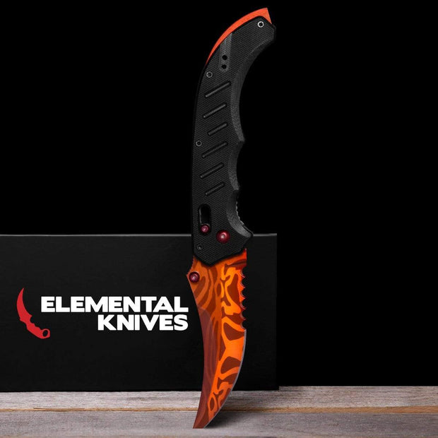 Slaughter Flip Knife Elemental Knives Flip Knife Skins