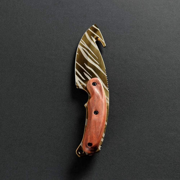 Tiger Tooth Gut Knife Elemental Knives Gut Knife Skins