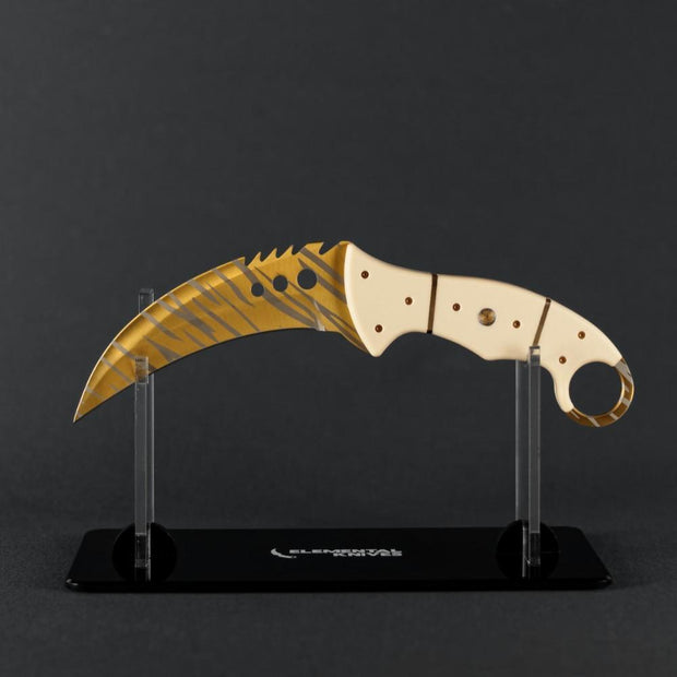 Tiger Tooth Talon Elemental Knives Talon Knife Skins