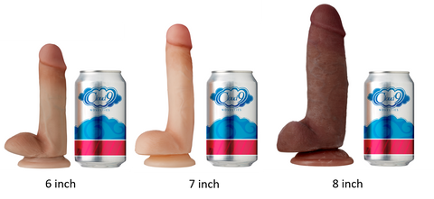Cloud 9 Dual Density Dildo Comparison
