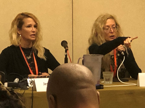 Jessica Drake and Nina Hartley at Woodhull 2019