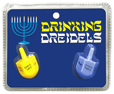 Drinking Dreidels from Kheper Games