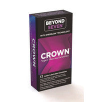 Crown 12Pk Super Thin And Sensitive