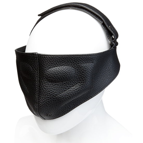 Kink Leather Blinding Mask Black