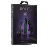 Fifty Shades Darker Dark Desire Advanced Couples Kit, 7 pieces