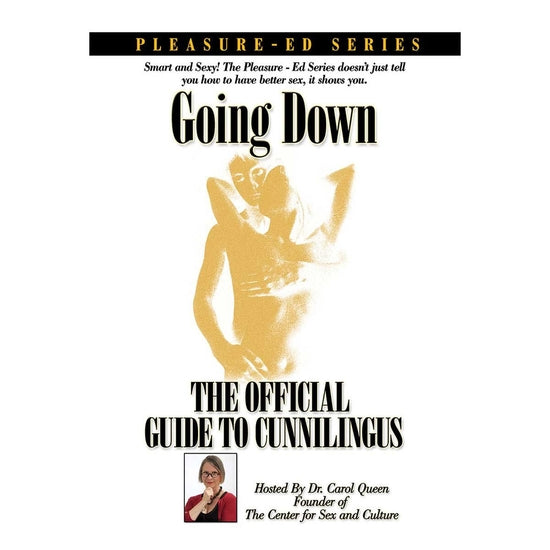 Going Down DVD: The Official Guide to Cunnilingus