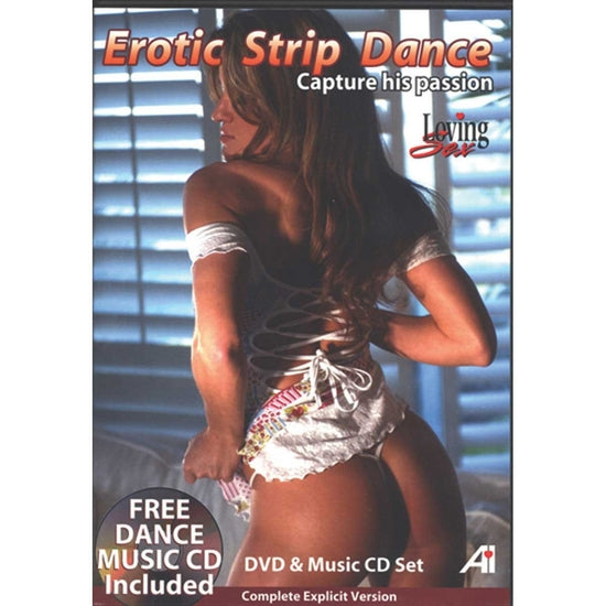Erotic Strip Dance DVD & CD: Capture His Passion