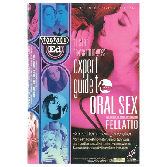 Tristan Taormino's Expert Guide to Oral Sex/Fellatio DVD