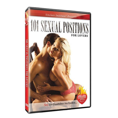 101 Sexual Positions for Lovers DVD