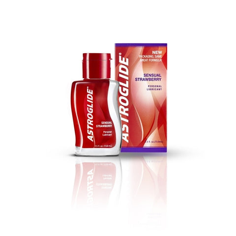 Astroglide Lubricant - 2.5 oz Bottle Strawberry