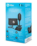 b-Vibe Vibrating Snug Plug XL (247 g) Black