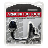 Perfect Fit Armour Tug Lock Cock Ring and Butt Plug Combo