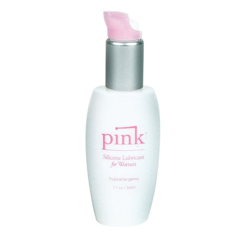 Pink Silicone Lube For Ladies Personal Lubricant