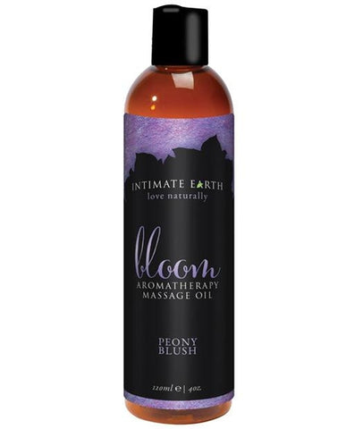 Intimate Earth Bloom Massage Oil Massage Lotion 4 oz.