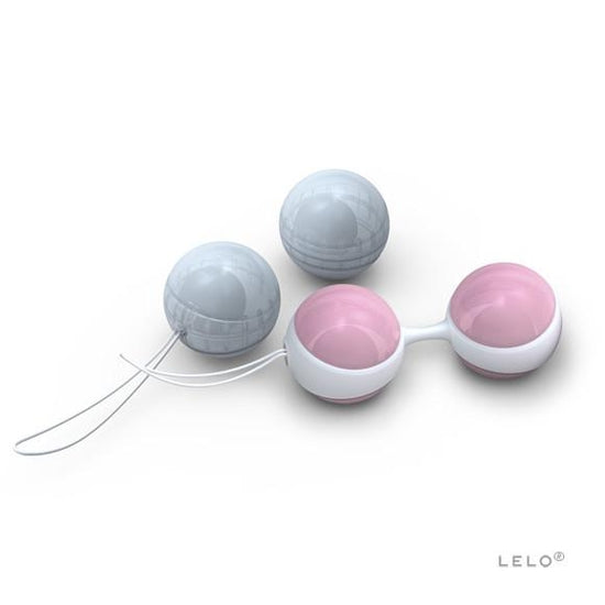LELO Mini Luna Beads - Pink & Blue