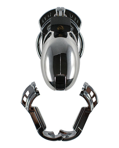 Locked in Lust The Vice Male Chastity Device - Plus Chrome
