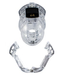 Locked in Lust  The Vice Male Chastity Device - Mini Clear