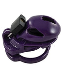 Locked in Lust  The Vice Male Chastity Device - Mini Purple