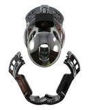 Locked in Lust  The Vice Male Chastity Device - Mini Chrome