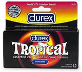 Durex Tropical Flavors - Box of 3