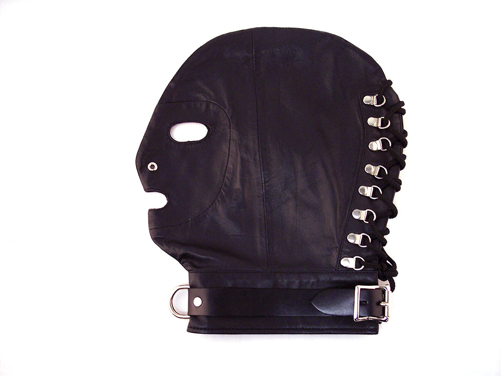 D-Ring Mask Black from Rouge Garments